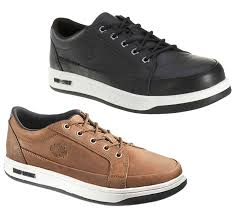 mens harley davidson jez casual lace up skate trainer shoes sizes