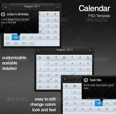 20 nice psd calendar