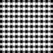 seamless tablecloth pattern black gingham check eps8 file