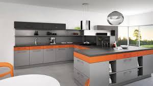 cuisine orange et noir cuisine orange et noir cuisine nous a fait à l aise dans le
