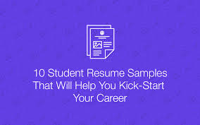Resume Samples Student by 10 Sales Resume Samples Hiring Managers Will Notice
