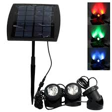 Landscaping Solar Lights by Lvjing Solar Light Outdoor Sensor Rgb Color Changing Led