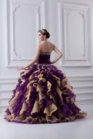 farbige brautkleider gã nstig farbig quinceanera kleider günstig prinzessin kleider organza