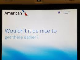 the 5 things american airlines did to kill my loyalty view from