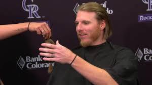rockies jon gray donates hair to locks of love mlb com