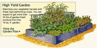 vegetable garden planner layout design plans for small home