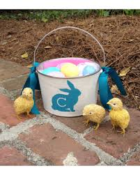 easter pail deal on personalized easter basket easter pail easter