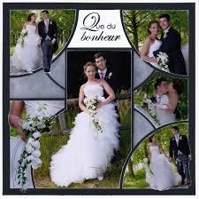scrapbooking mariage nouveau gabarit rond dans l o scrap flowers