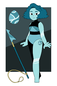 blue opal gemsona steven universe my gemsona alabaster by themeggers on deviantart