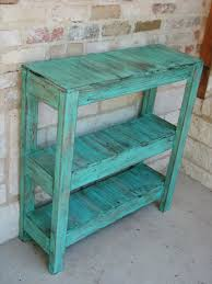 pallet potting table and entry way table 1
