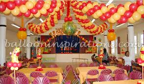 birthday party room decoration image inspiration of cake and