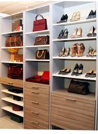 Closet Shoe Organizer The Wooden Shoe Racks For Closet Home Design