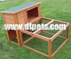 Double Rabbit Hutches Double Story Rabbit Hutches Ferret Guinea Pig House Dfr 046 Buy