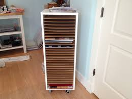 Ikea Kitchen Cabinet Organizers Ikea Kitchen Cabinet On Casters For 12x12 Paper Storage My Craft
