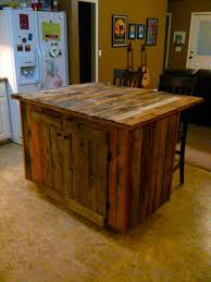 handmade kitchen island decorate your kitchen with pallet wood pallets designs