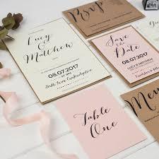 wedding invitations calligraphy modern calligraphy wedding invitation by russet and gray