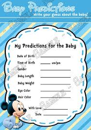 baby mickey baby shower novel concept designs baby mickey mouse baby boy baby shower