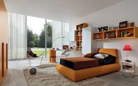 Perfect Interior Design by White Bookcase With Glass Door For Elgant Interior With Sheer