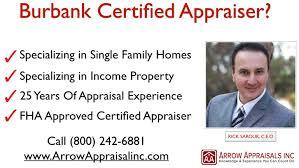 burbank real estate appraiser arrow appraisals youtube