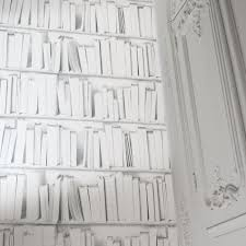 White Library Bookcase by White Library Wallpaper Wallpaper Graham U0026 Green