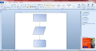 Cover Letter Template Word 2010 Word Flowchart Er Diagram Online Tool