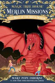 night of the ninth dragon magic tree house merlin mission series