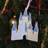 cinderella castle ornament disney family