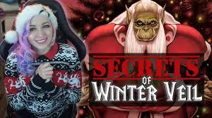 Warcraft Halloween Costume Secrets Winter Veil Warcraft