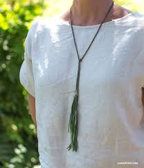 tassel necklace make images Diy tassel necklaces lia griffith jpg