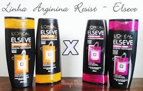 Amado Testei: Shampoos e condicionadores Arginina Resist – Elseve   &DC47