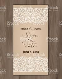 save the date card wedding invitation template hand written custom
