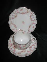 mz austria bridal lovely vintage altrohlau mz austria bridal trio cup saucer side
