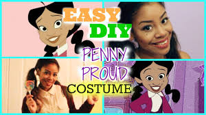 easy diy penny proud last minute halloween costume youtube