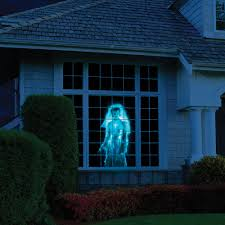 halloween light display projector the superior holiday scene projector hammacher schlemmer