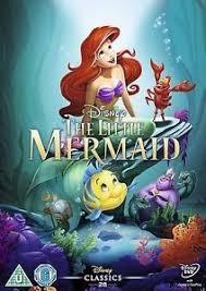 the little mermaid dvd sealed new genuine uk disney film movie