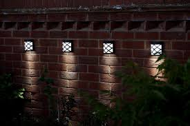 Outdoor Solar Lights For Fence Outside Solar Fence Lights Fences Ideas