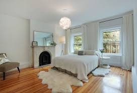 Contemporary Master Bedroom Contemporary Master Bedroom With Hardwood Floors By The Corcoran