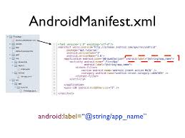 android label android application development