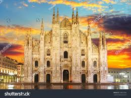 Milan Cathedral Floor Plan by Milan Duomo Stock Photo 158023355 Shutterstock