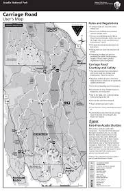 Picture Of Map Maps Acadia National Park U S National Park Service