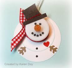 snowman tea light ornaments use foam sheets melted snowman