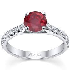Ruby Wedding Rings by Ruby Engagement Rings