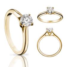 cartier engagement rings solitaire 1895 ring in yellow gold cartier the