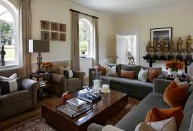 gray and brown living room ideas with grey sofa home interior