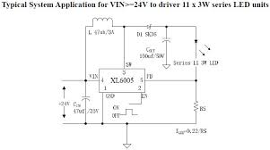switching led constant current driver circuit diagram