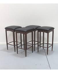danish bar stools midcentury danish bar stool rosewood set of 2 or 4 danish red