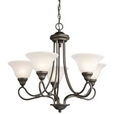Progress Lighting 5 Light Chandelier Stafford 5 Light Chandelier Olde Bronze