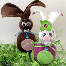 bedazzled sock bunnies a super fun diy kid craft