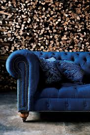 Blue Sofa Living Room Design by Best 25 Tufted Sofa Ideas On Pinterest Home Flooring Home