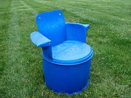 recycled 55 gallon barrel chair 7 steps with pictures